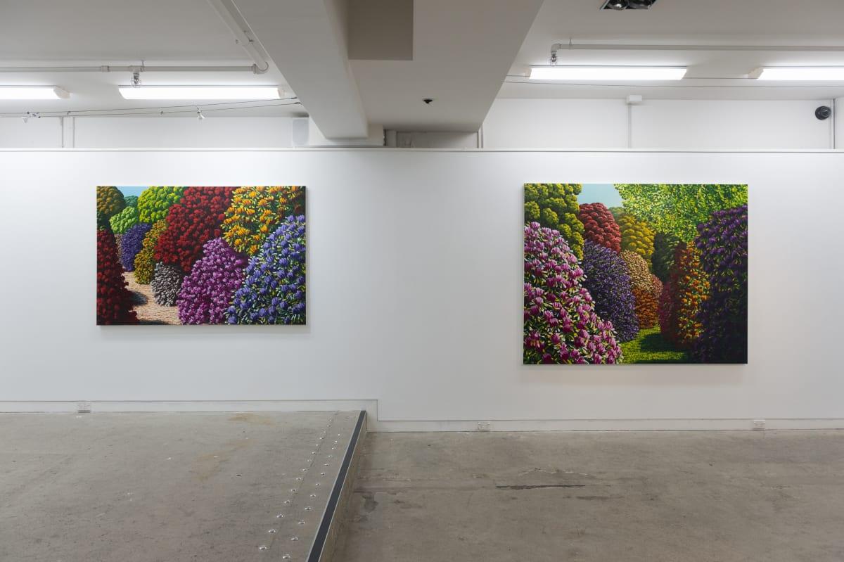 Installation image, 'Karl Maughan: Halcombe', 2018, Page Blackie Gallery. Photo: Ryan McCauley.