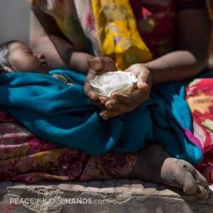 Stuart Robertson, 'Remkha, Beggar with Child, Udaipur, India'. Image courtesy of the artist.