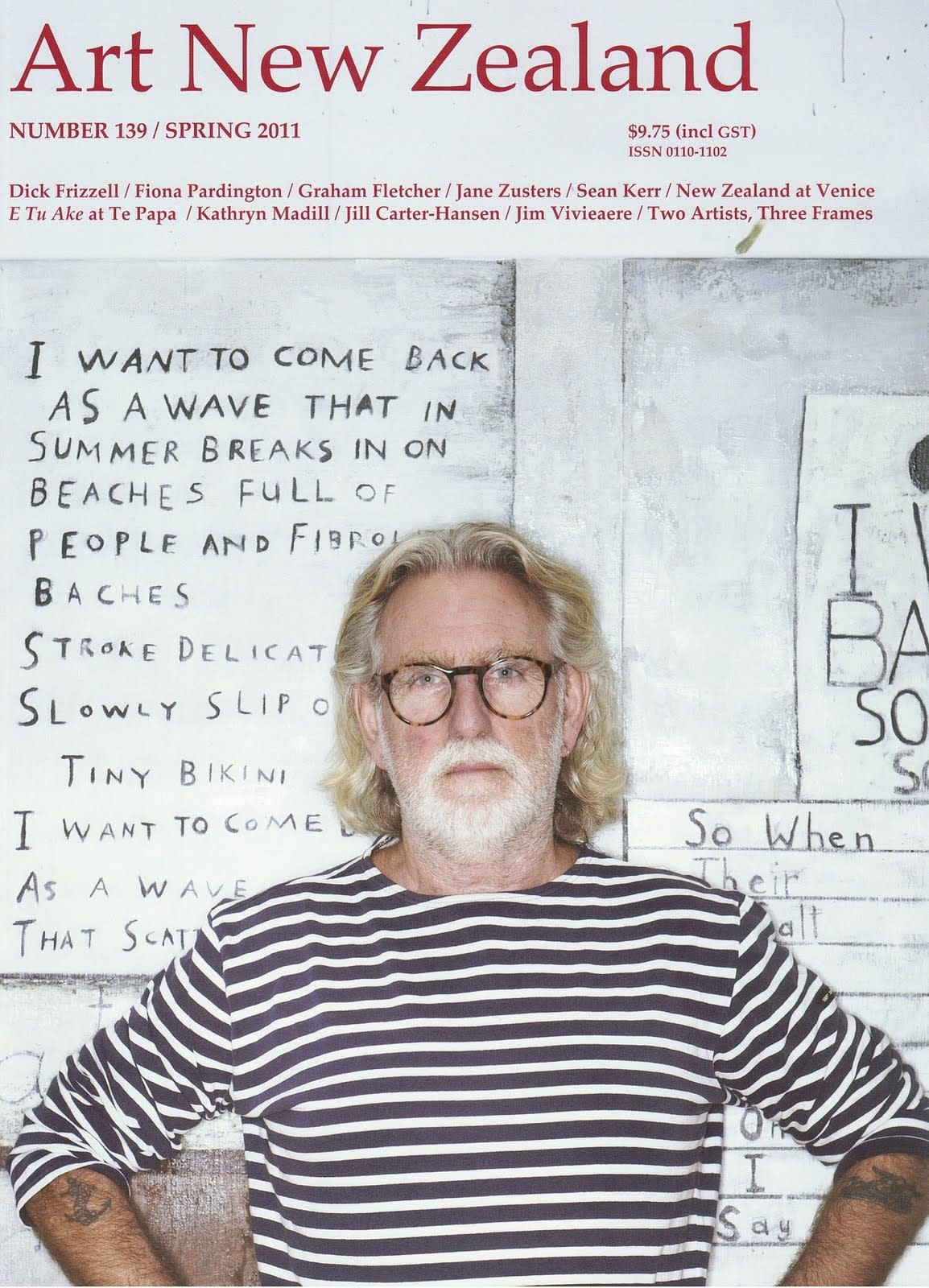 Dick Frizzell features in the Spring Edition of Art New Zealand Magazine