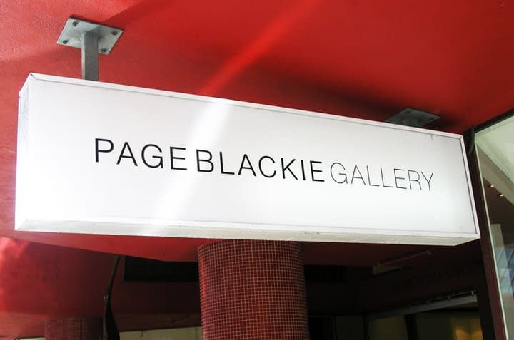 Page Blackie Gallery now on Facebook