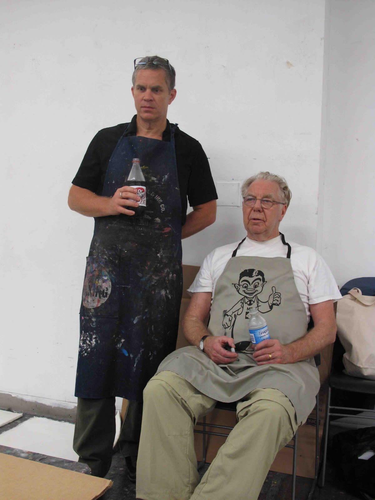 Max Gimblett Leads a Sumi Ink Workshop at New York School of Visual Arts