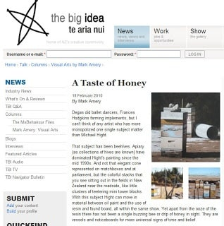 Read Michael Hight's review in the Dom Post