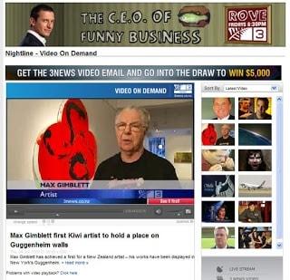 Max Gimblett on Nightline