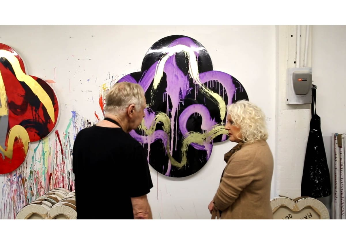 Max Gimblett and Marcia Page in NYC