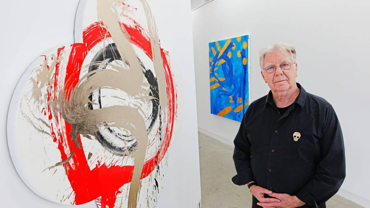 Artist Max Gimblett reflects on a life of love, art and freedom