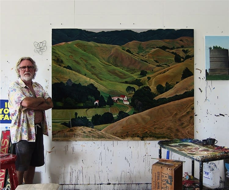 Dick Frizzell on his Henderson House Artist Residency