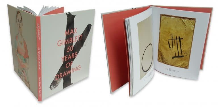 'Max Gimblett - 50 Years of Drawing' Publication