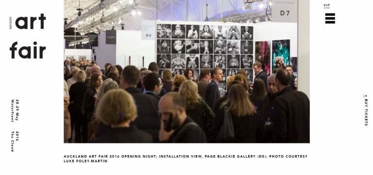 Stuart Robertson and Auckland Art Fair