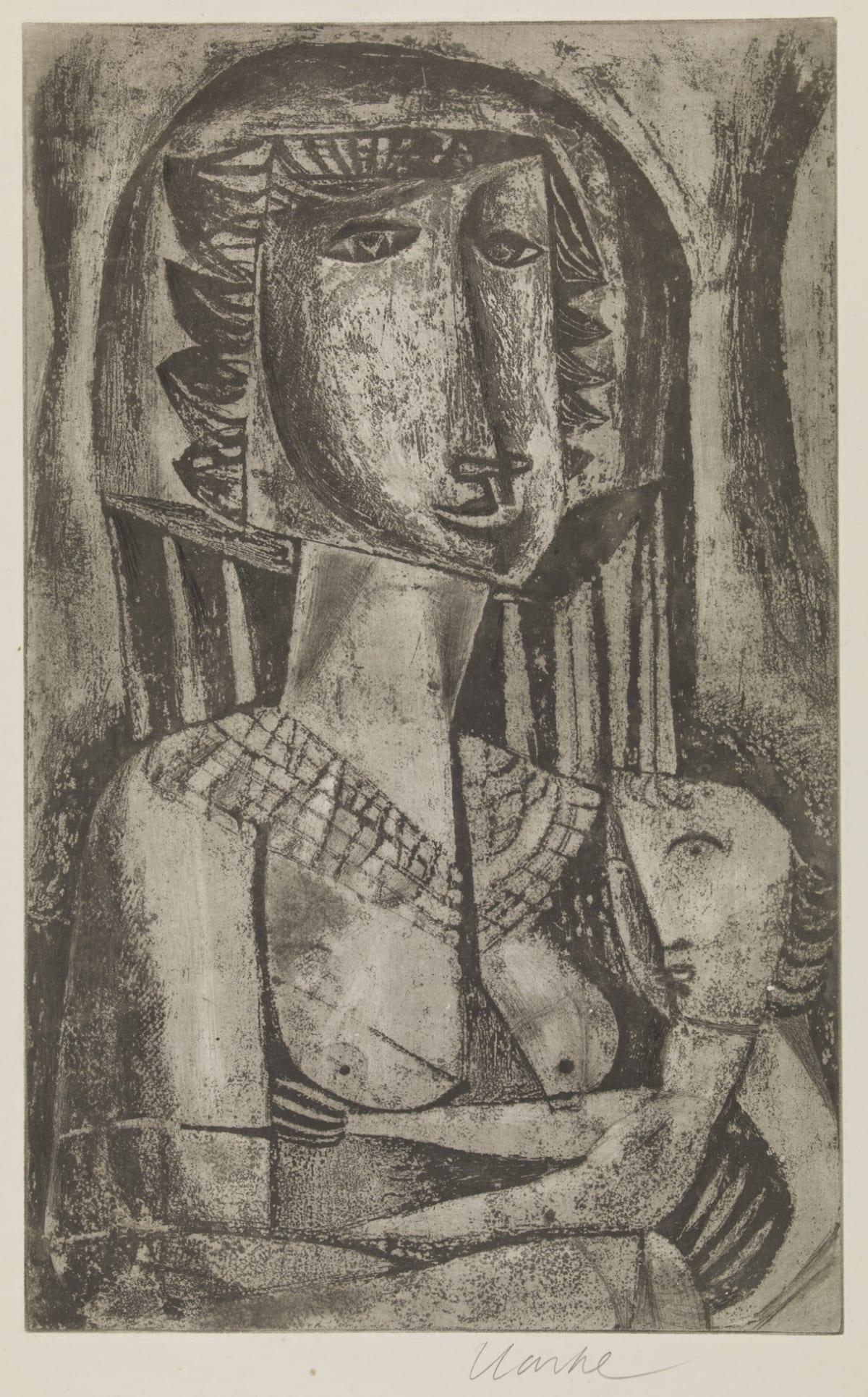 Geoffrey Clarke, Mother and Child (25), 1949