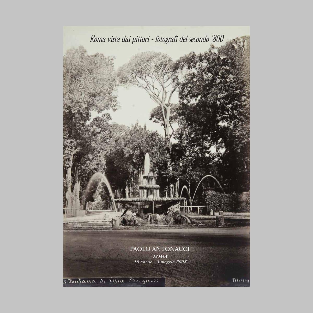 Roma vista dai pittori - fotografi del secondo Ottocento