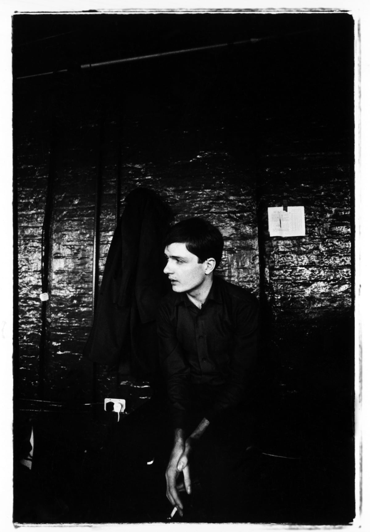 Kevin Cummins 11.Ian Curtis, Joy Division TJ Davidson's rehearsal room Little Peter Street, Manchester 19 August 1979, 2006 Gelatin-silver print. Edition of 75 40.6 x 50.8 cm 16 x 20 in Edition of 75