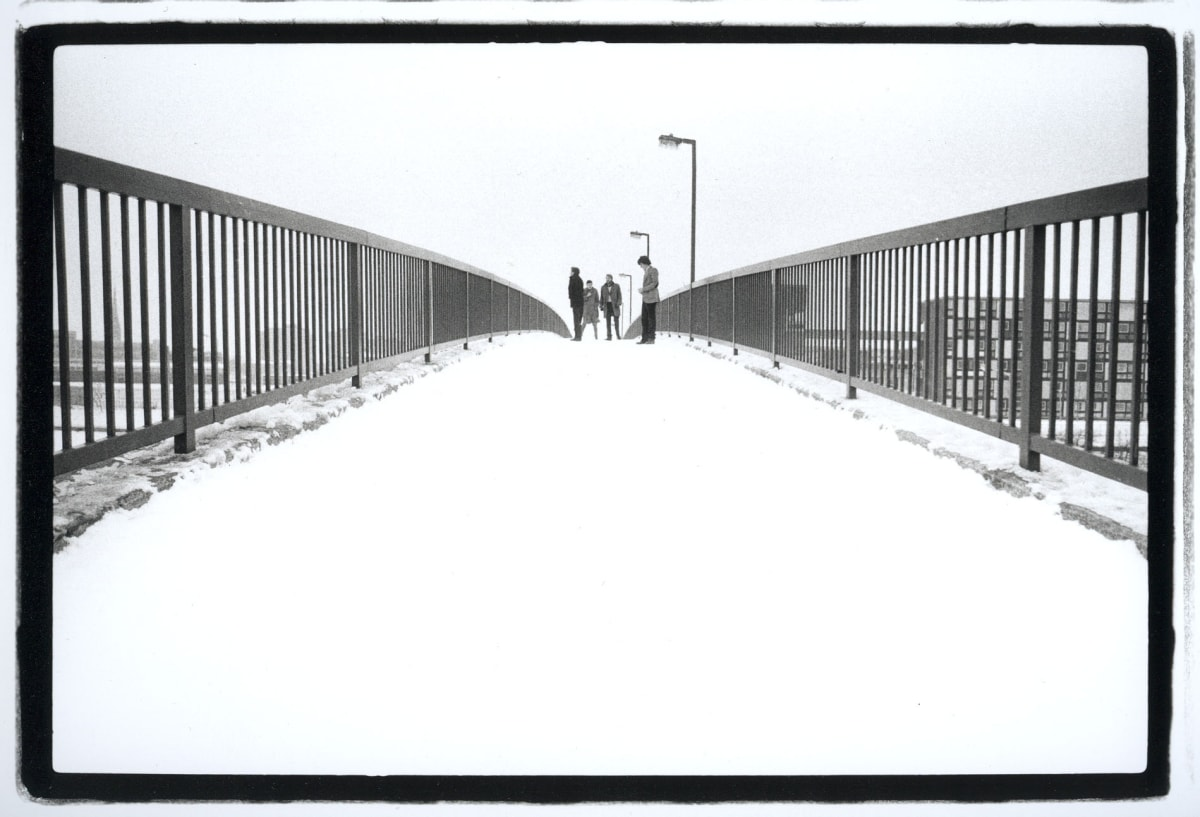 Kevin Cummins 4.Joy Division. Hulme, Manchester. 6 January 1979, 2006 gelatin-silver print, From portfolio Arca. Edition of 75 40.6 x 50.8cm 16 x 20 Edition of 75 plus 10 artist's proofs