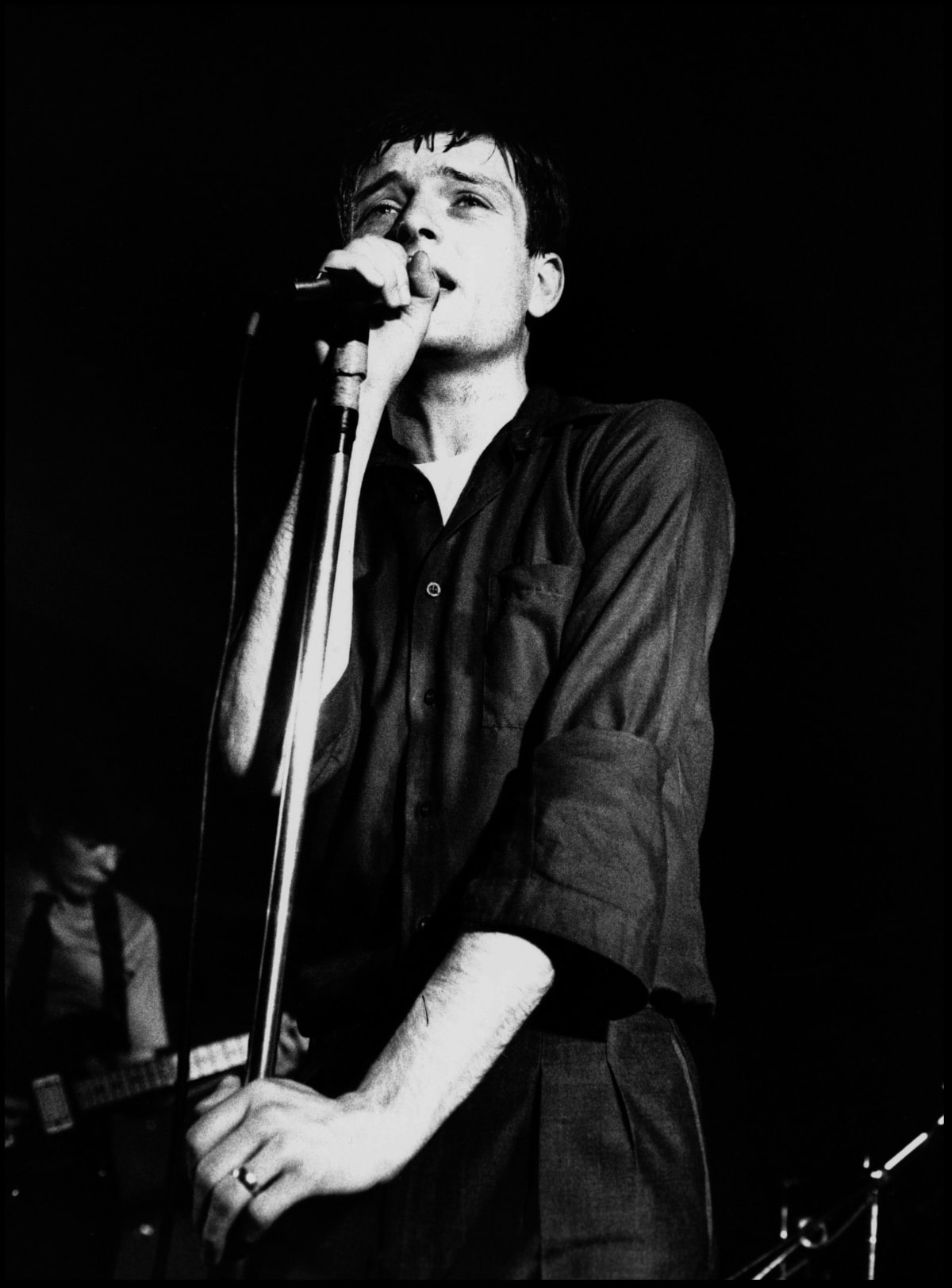 Kevin Cummins 8.Ian Curtis, Joy Division, The Factory Hulme, Manchester 13 July 1979, 2006 Gelatin-silver print. Edition of 75 40.6 x 50.8 cm 16 x 20 in Edition of 75