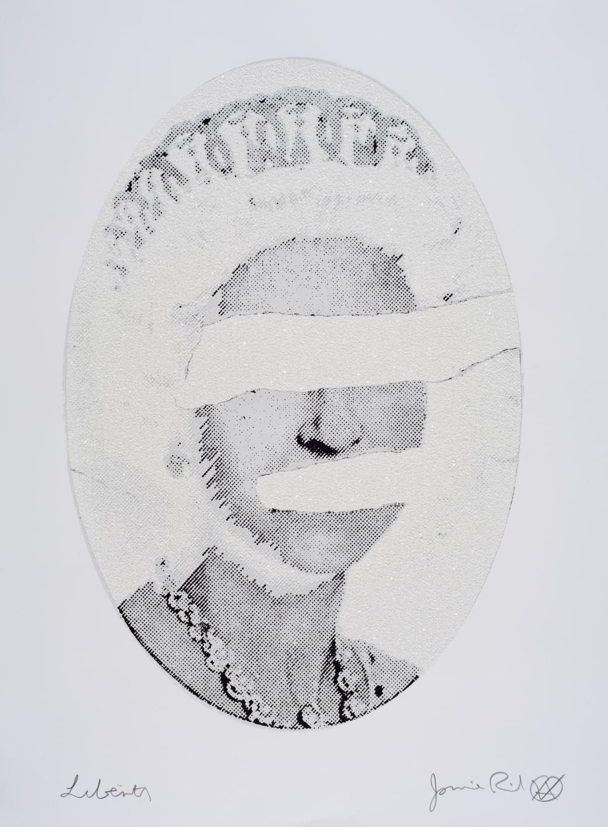 Jamie Reid Liberty White Diamond Dust On White High Res