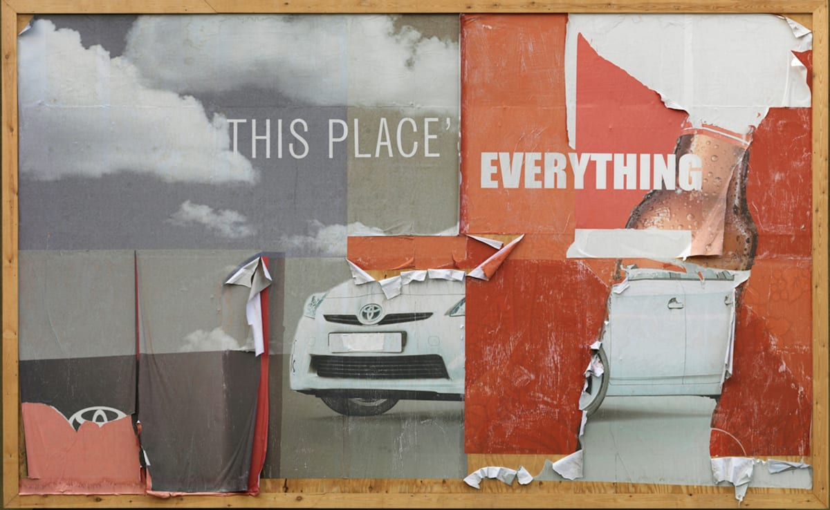 """His Place Is Everything Digital ink jet print on coated MG blueback paper 115 gsm Edition of 50, signed and numbered by the artist, plus 15 Artist Proof sets, and 1 Printer's Proof set 1524 x 1016mm Each folded to 508mm x 381mm All the portfolio sets are presented in an archival box 2012 , Arial, sans-serif; line-height: normal;"""">"""
