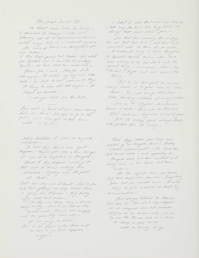 FACTUAL NONSENSE Tracey Emin Other Men's Flowers - 'Book Edition' 1994 Screenprints and printed letterpress. Portfolio edition of 100 + 20 APs. Colophon page signed by all the artists and numbered. Published by Paragon Press, London