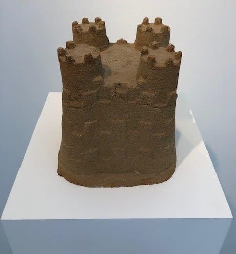 Marcus Harvey Sandcastle, 2016 Stoneware 19.5 x 20 x 20 cm