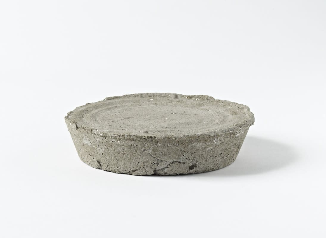 Sarah Lucas (Untitled) Pie, 2002 Concrete. Edition of 12 2.5 x 15.2 cm
