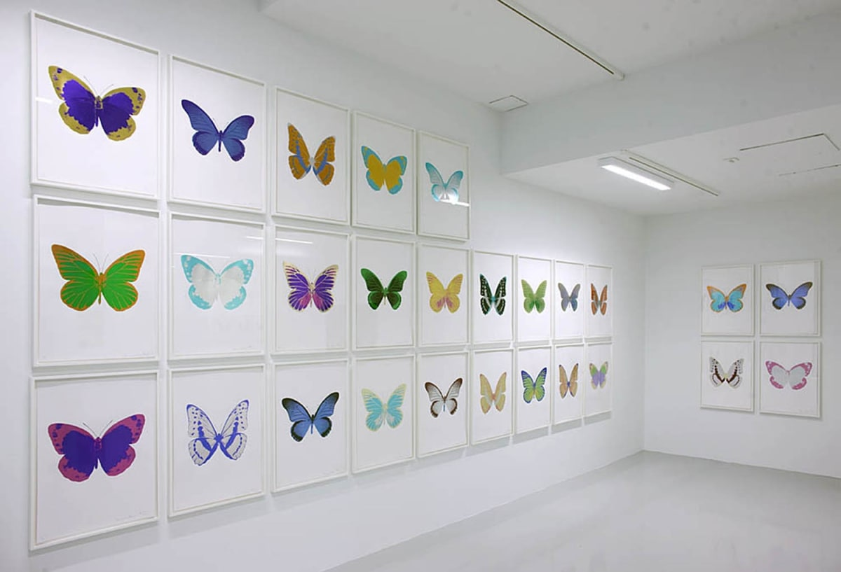 Installation Damien Hirst The Souls