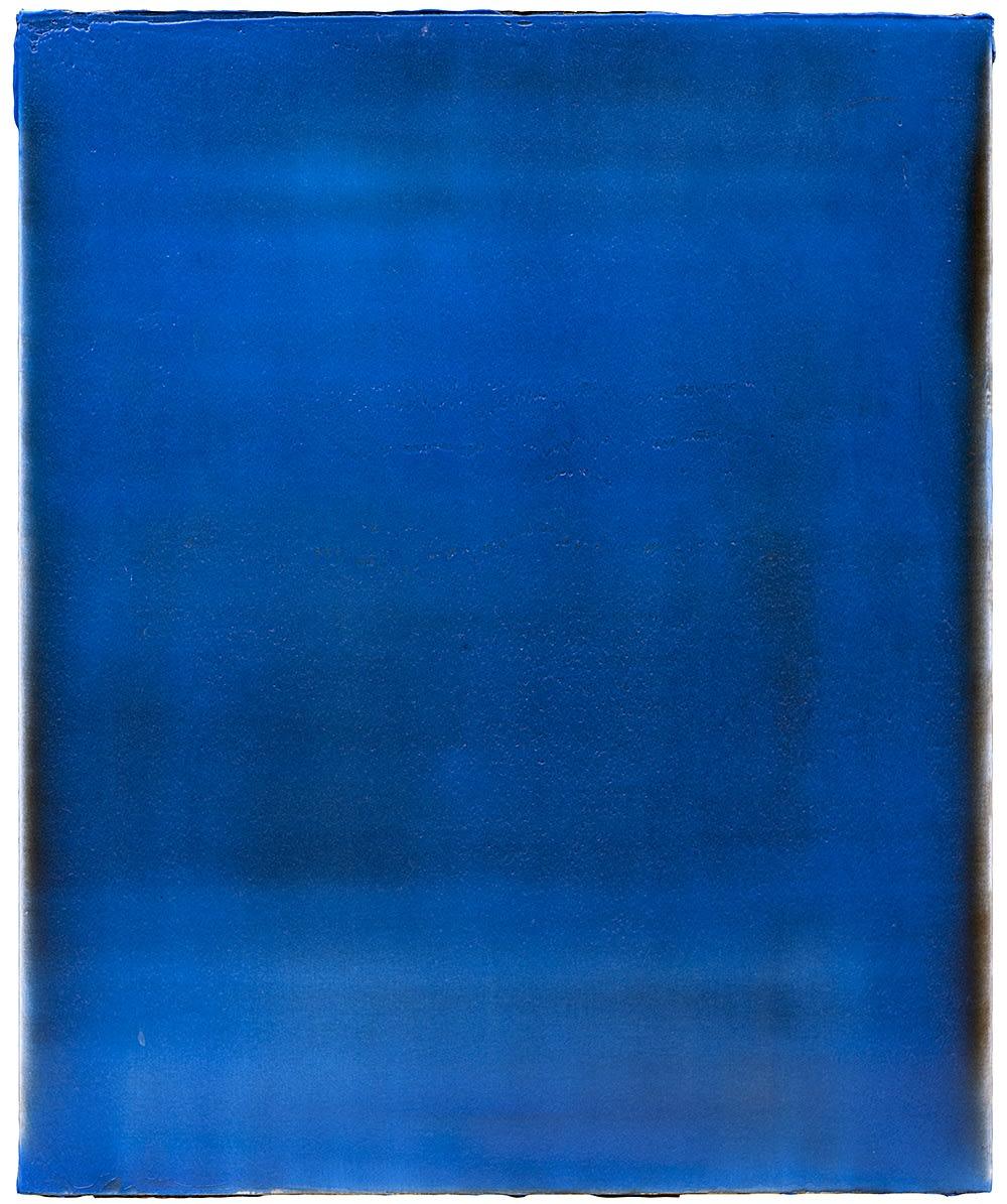 Nejat Sati, Blue Structure, 2014