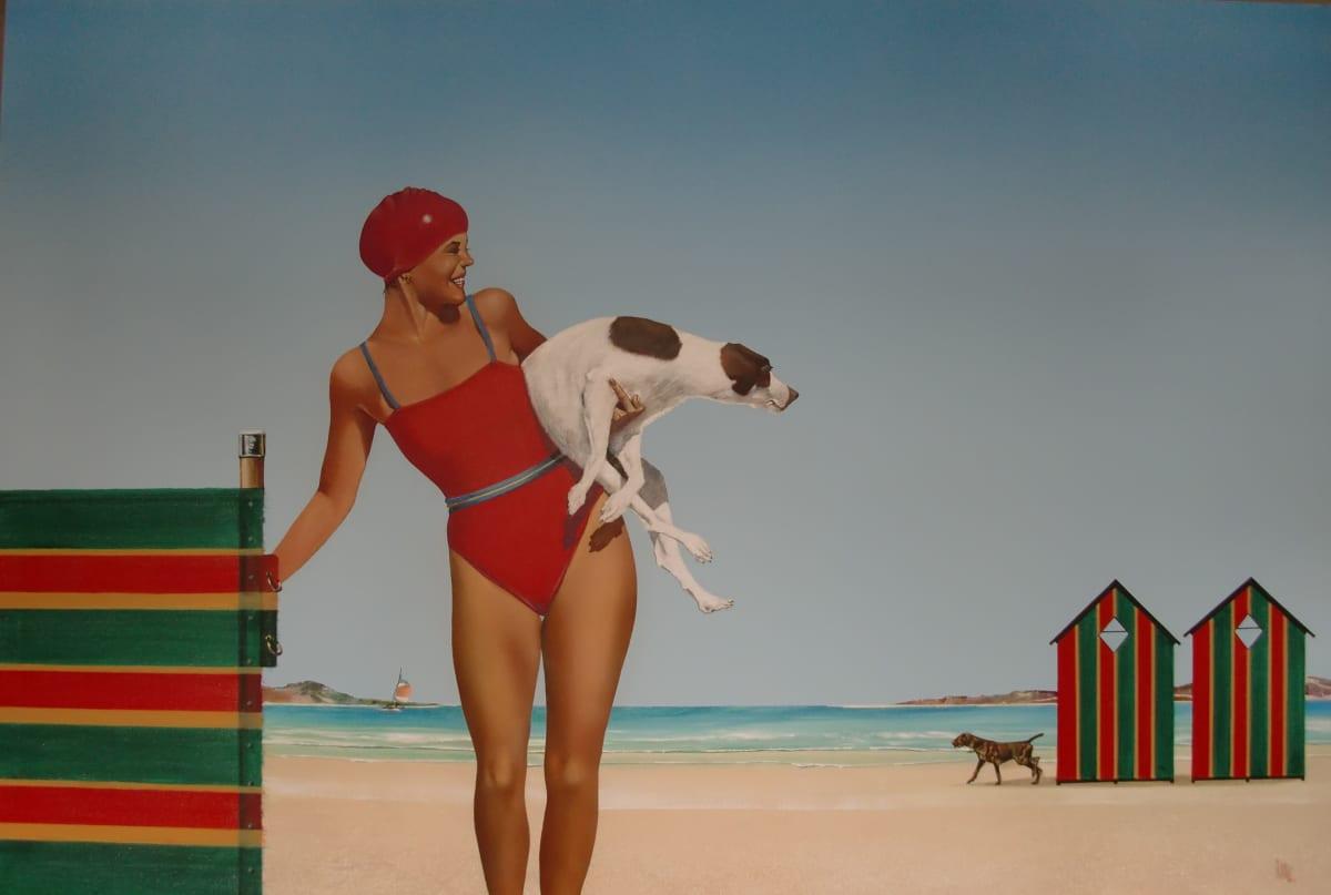 "Mike Francis ""Spot the Dog II"" ACrylic on canvas 122 x 183 cm"