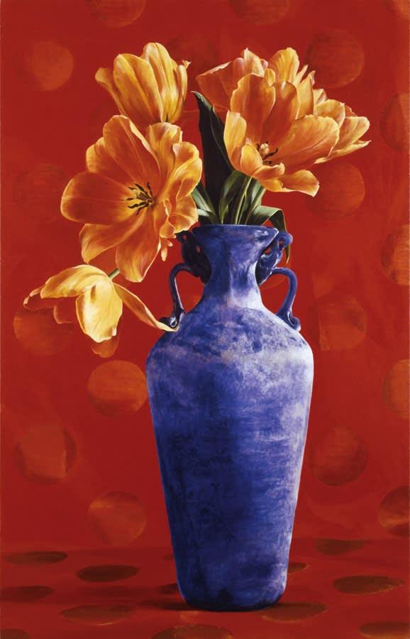 Ben Schonzeit RYB Acrylic on linen 168 x 107 cm