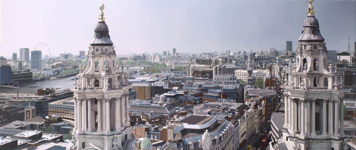 Francisco Rangel Londinium oil on canvas 62 x 146 cm