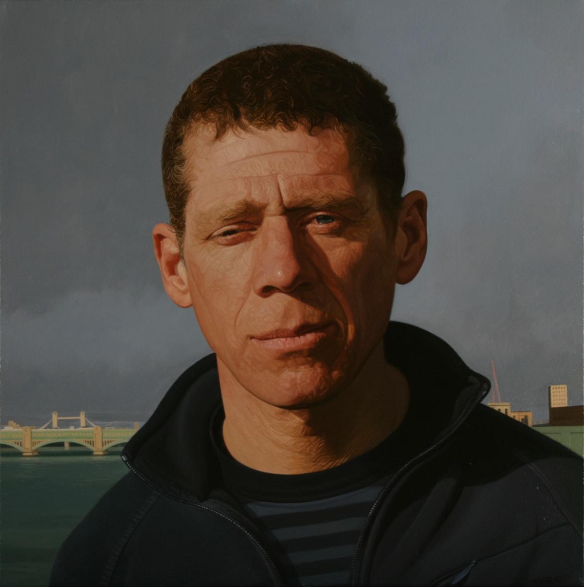 Philip Harris S.H in London oil on linen 30.5 x 30.5 cm