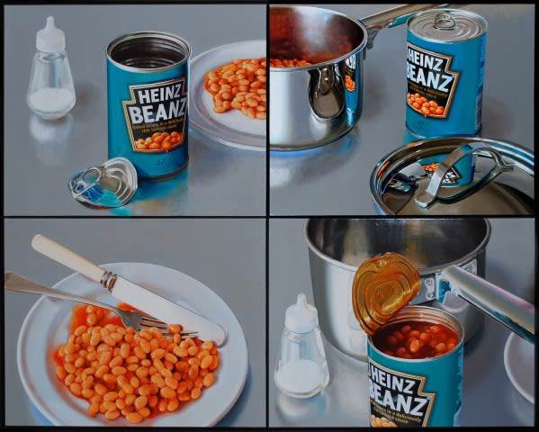The influence of pop art in hyperrealism