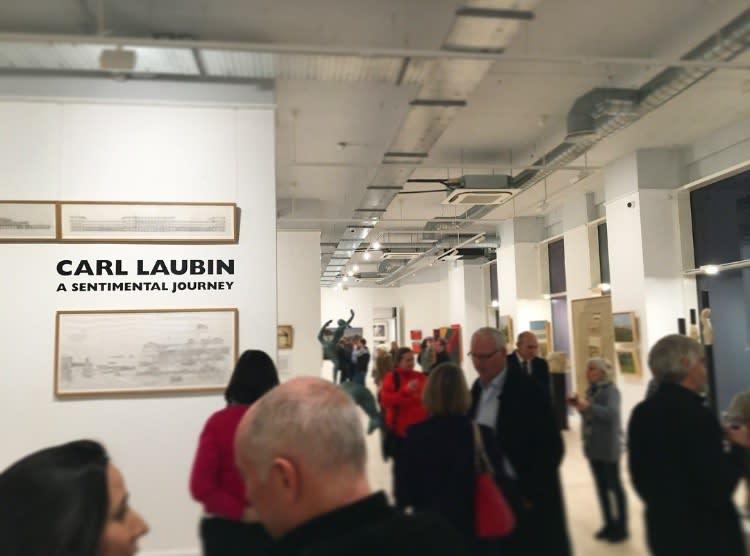 Carl Laubin: A Sentimental Journey Private View, With guest speaker Prof. Adrian von Buttlar