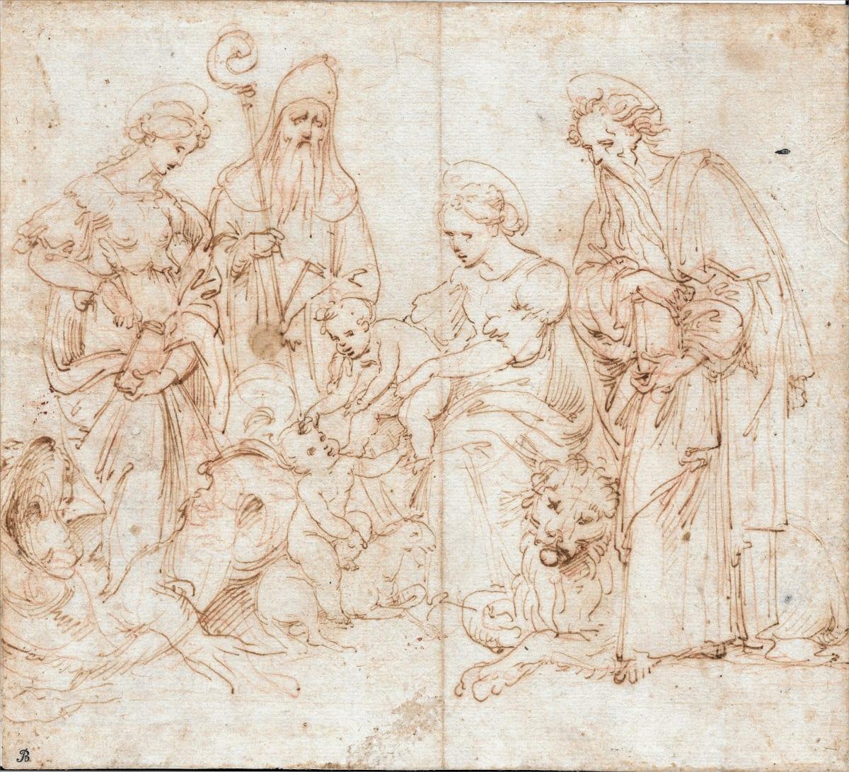 Cesare da Sesto (Sesto Calende, 1477 – Milan, 1523) Holy Family