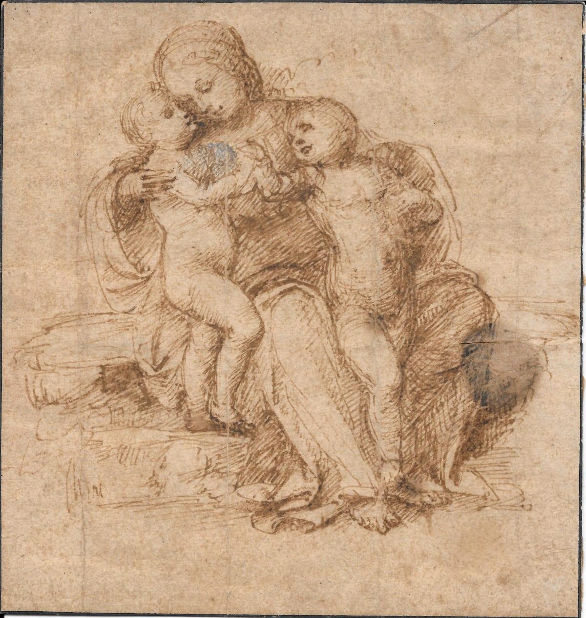 Raphael (1483-1520) Holy Family