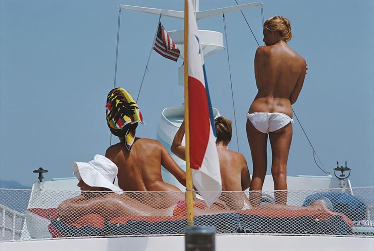 Slim Aarons, Yacht Holidays, Marbella, 1967