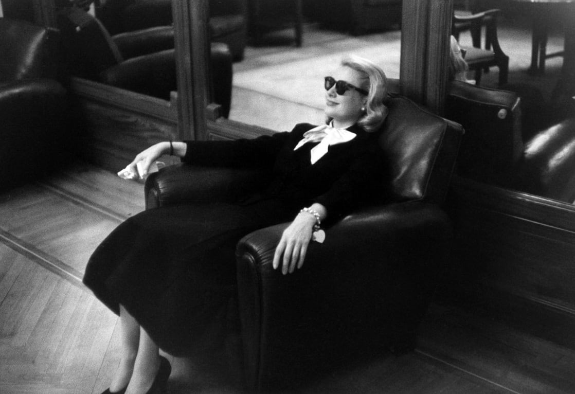Edward Quinn, Grace Kelly, Carlton Hotel, Cannes, 1955