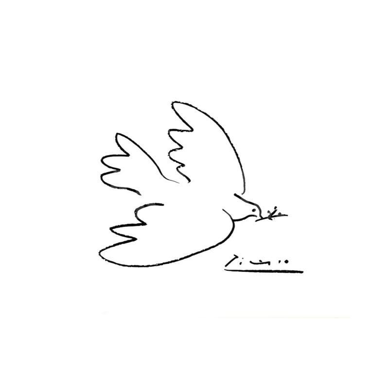 La Colombe De Paix Pablo Picasso
