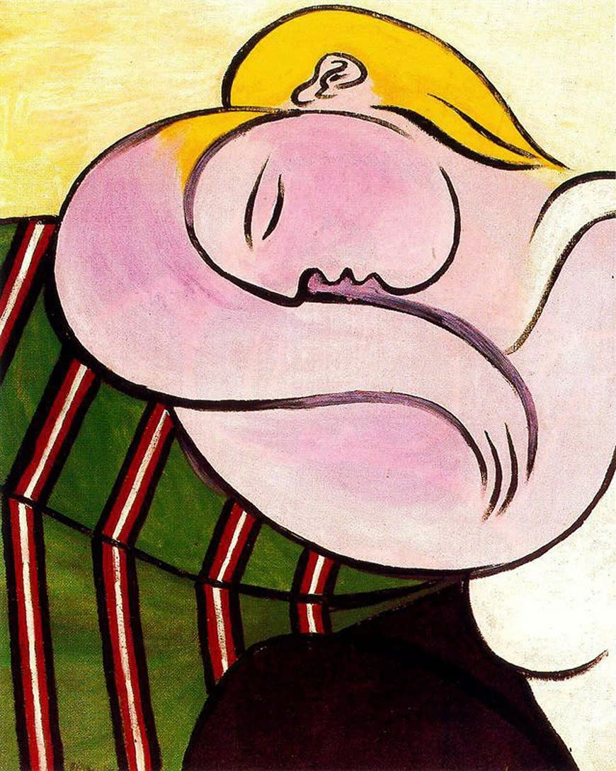 Pablo Picasso Woman With Yellow Hair
