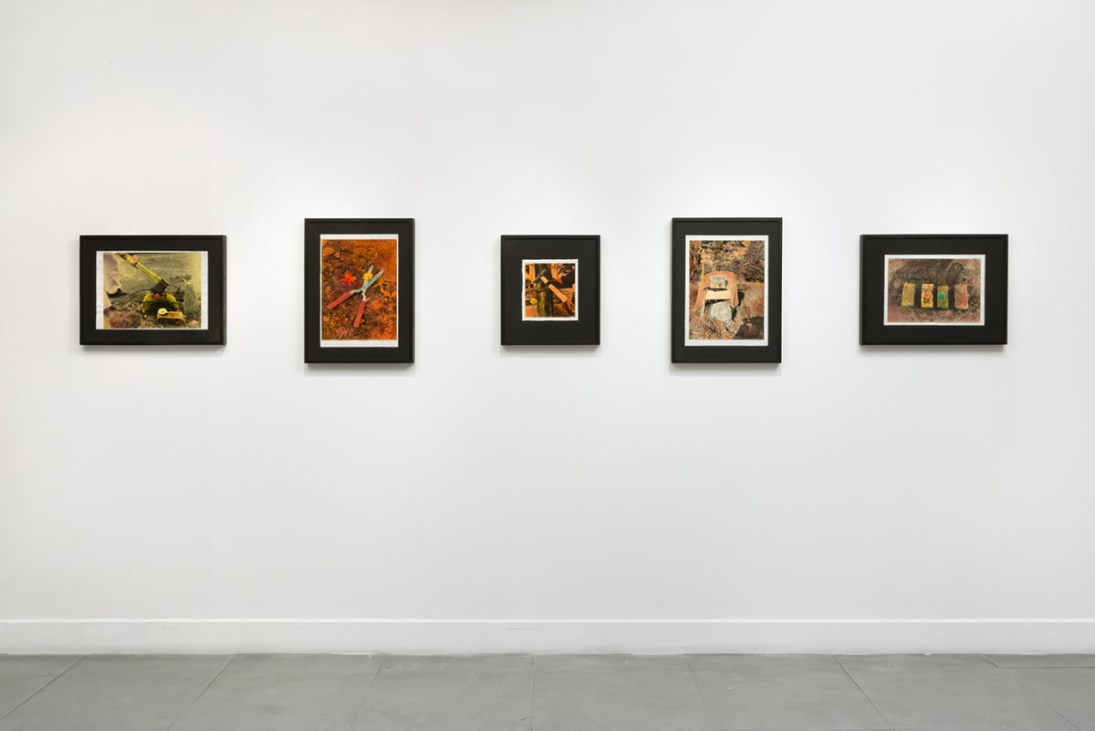 Installation views of Li Yuan-chia at Richard Saltoun Gallery (4 October - 25 November 2016)