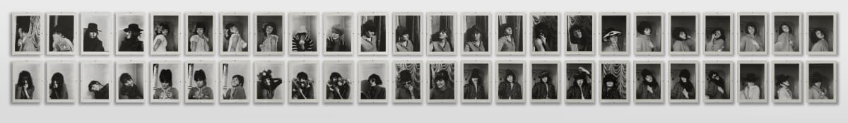 Renate BERTLMANN Verwandlungen (Transformations), 1969/2013 53 black and white photographs 25 x 17 cm (each)