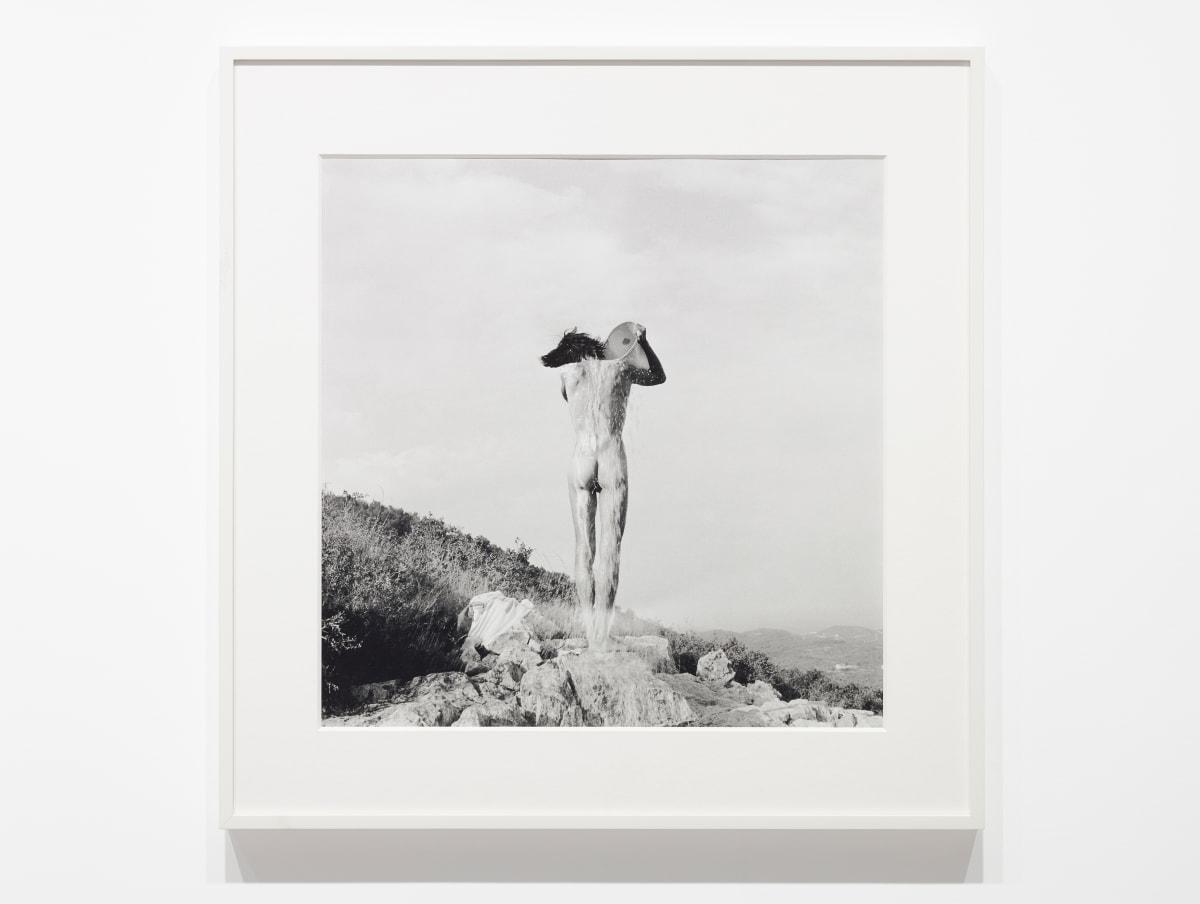 Tony MORGAN 1938-2004 Book of Exercises: Washing, 1972 Black and white photograph 50 x 50 cm (image size) (TMO035)