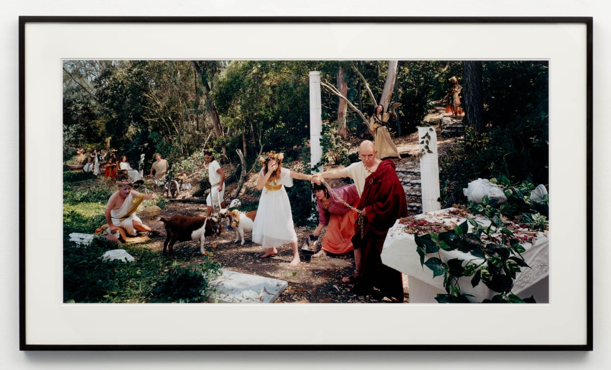 "Eleanor ANTIN The Sacrifice from ""The Last Days of Pompeii"", 2002 Chromogenic print 51 x 102 cm Edition 1 of 3"