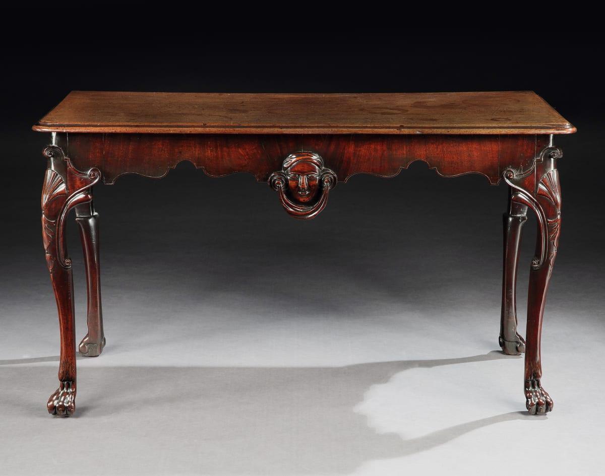 A GEORGE III IRISH MAHOGANY SIDE TABLE, IRISH, CIRCA 1745