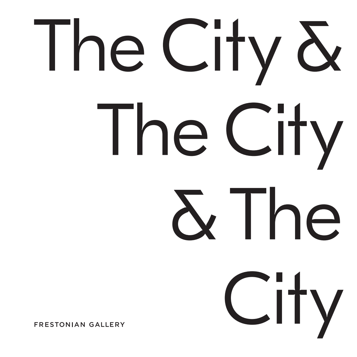 The City & The City & The City