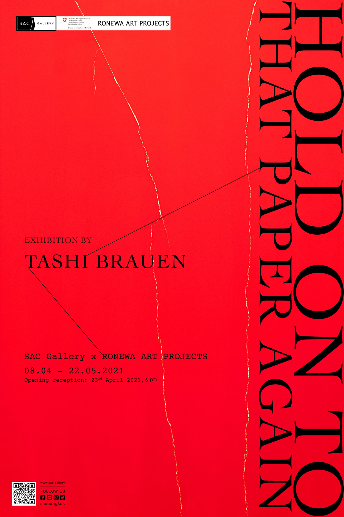 Tashi Brauen - Hold on to That Paper Again