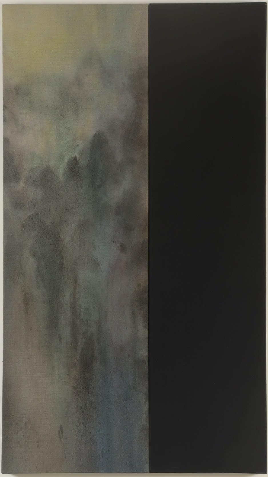 Michael Biberstein Sem título Acrilíco s/ linho 160 x 91 x 5 cm