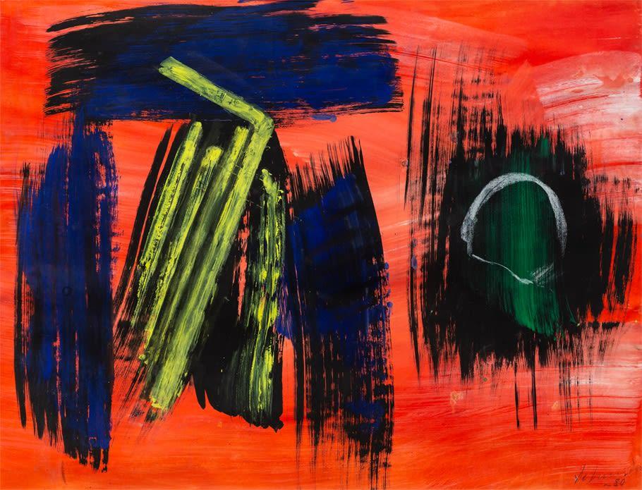 Gérard Schneider, Untitled, 1980