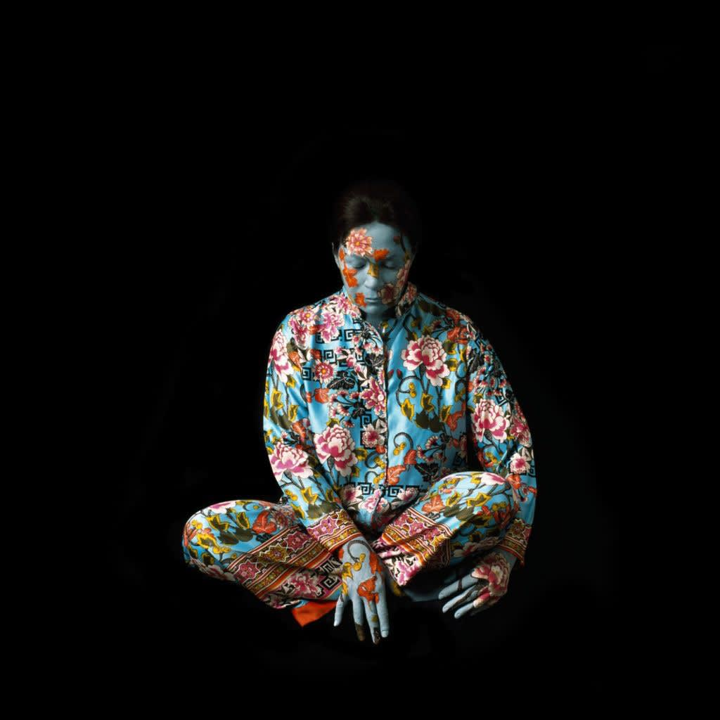 Artwork: Cecilia Paredes, Silk, photo performance, edition of 7, 2015, 41 x 37.5″