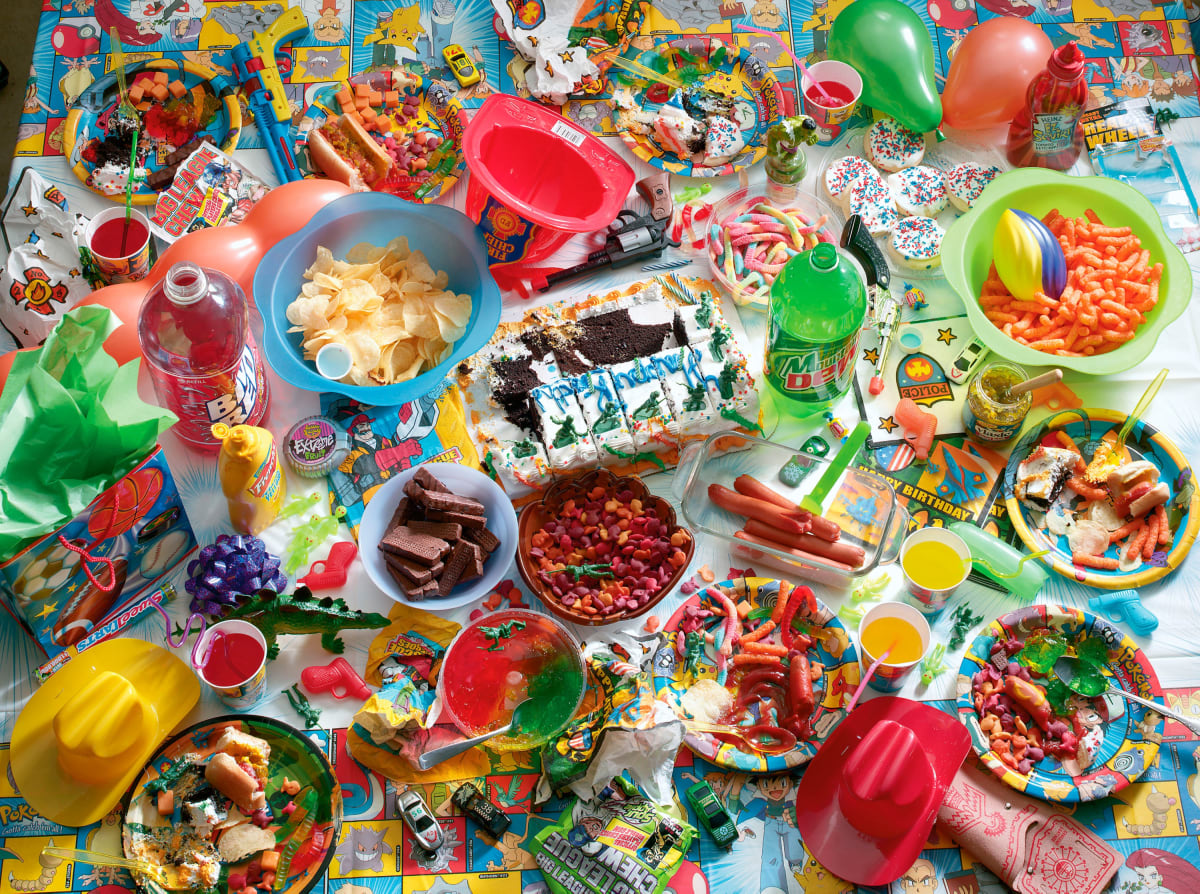"Chuck Ramirez, ""Seven Days: Birthday Party"" (2003), pigment inkjet print 48 x 60 in, edition of 6"