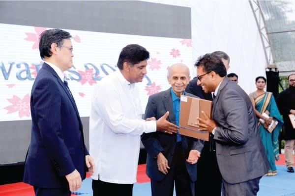 Priyantha Udagedara   Bunka Award