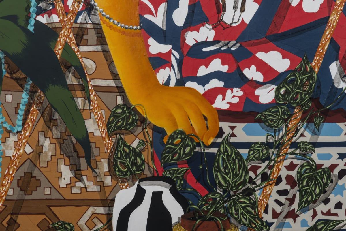 Amir H. Fallah. Entangled in The Tropics, 2012 (detail)