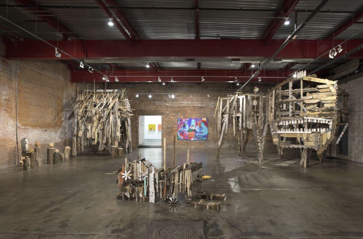 Summer Wheat and Hirosuke Yabe, Wasserman Projects, 2019. Detroit